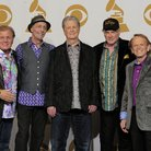 Beach Boys backstage at the Grammy Awards