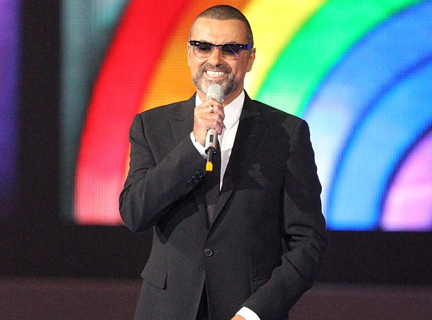 George Michael at the BRIT Awards