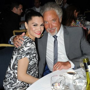 Jessie J and Tom Jones