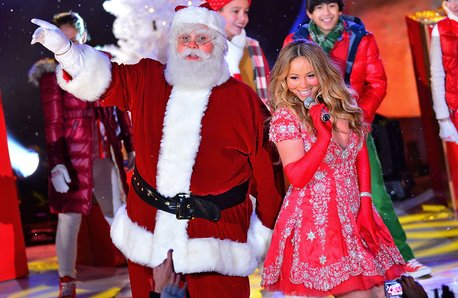 Mariah Carey Christmas Lights 2012