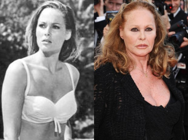 Bond Girls: Then And Now