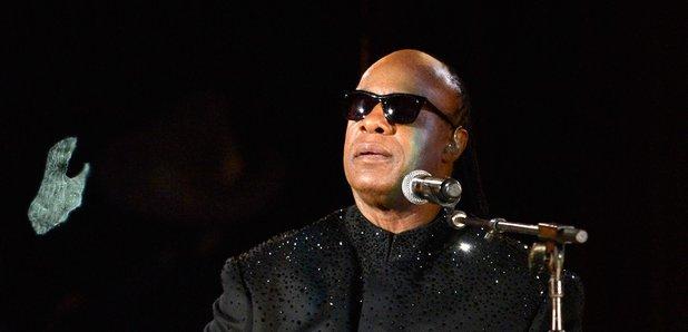 Stevie Wonder at the  Grammy Awards 2014