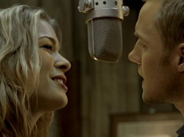 Leann Rimes and Ronan Keating