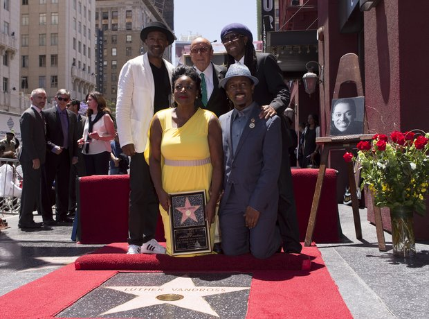 Luther Vandross Walk Of Fame