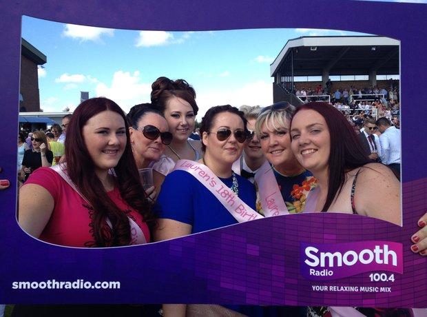 Smooth Radio at Haydock Park
