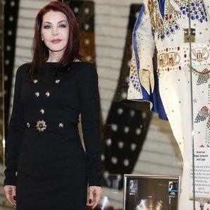 Priscilla Presley helps launch Elvis exhibition