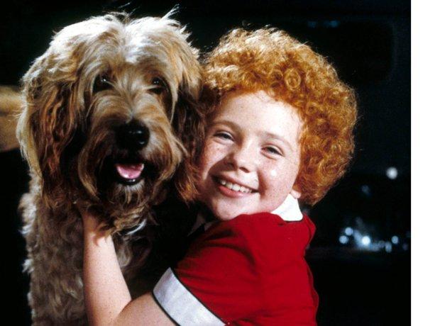 Annie with Aileen Quinn