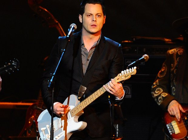 Jack White plays live