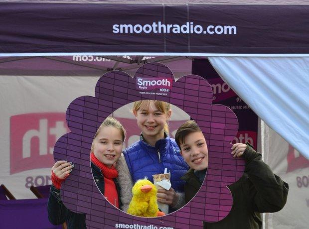 Smooth Radio at the British Food Festival 2015