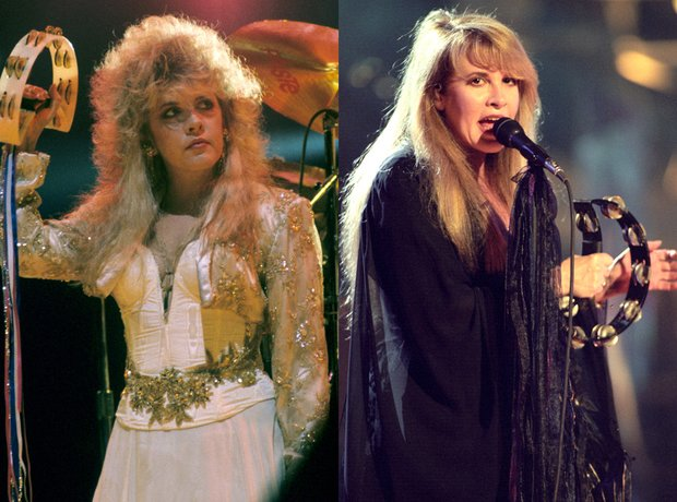 iconic beauty looks music stevie nicks