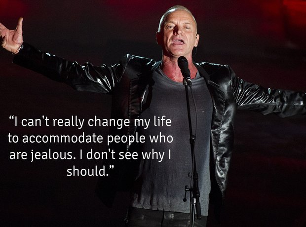 Sting's Bizarre Quotes