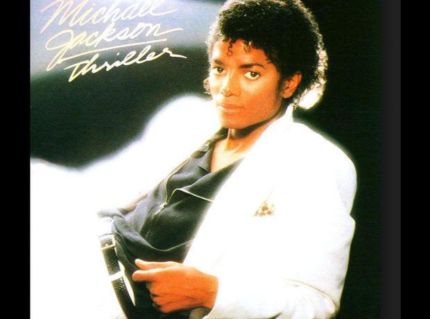 Michael Jackson 80s album covers