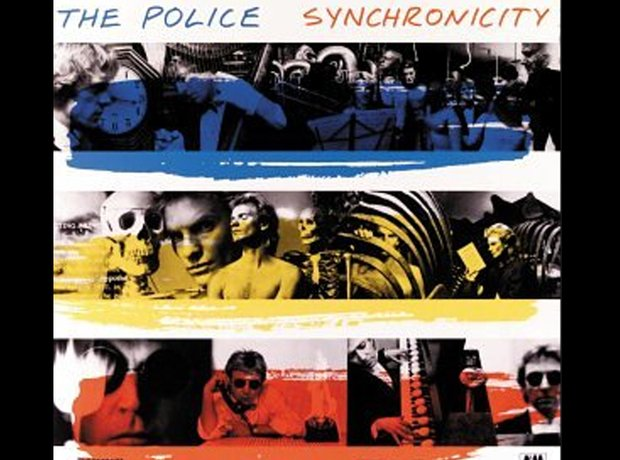 The Police 80s album covers