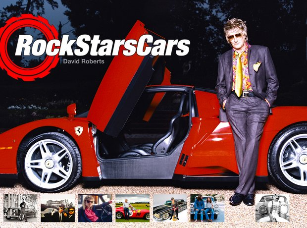 Rock Stars Cars Rod Stewart