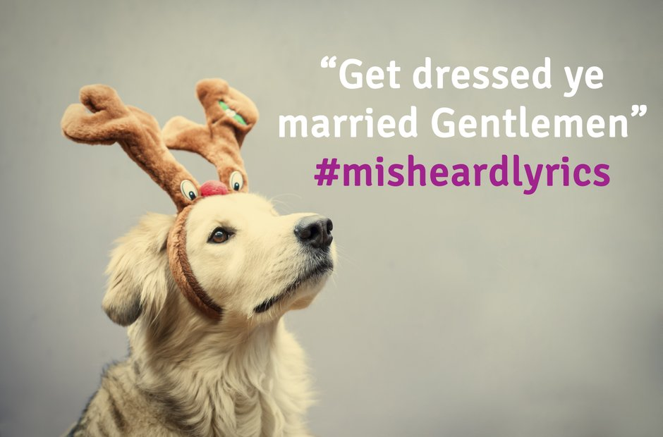 Misheard Christmas Lyrics