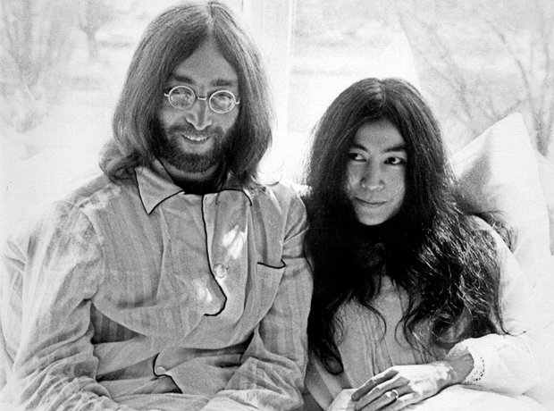 Couples Gallery John Lennon and Yoko Ono