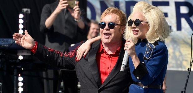 Elton John Lady Gaga Performance