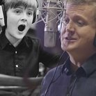 Aled Jones - young and old