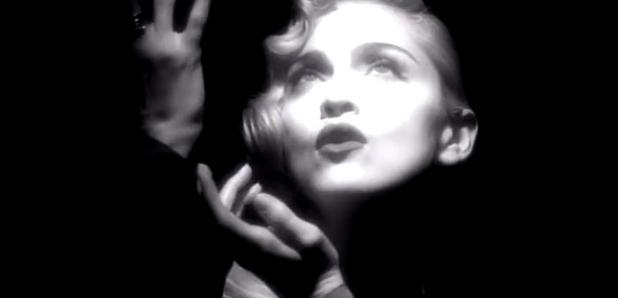 Madonna Vogue music video